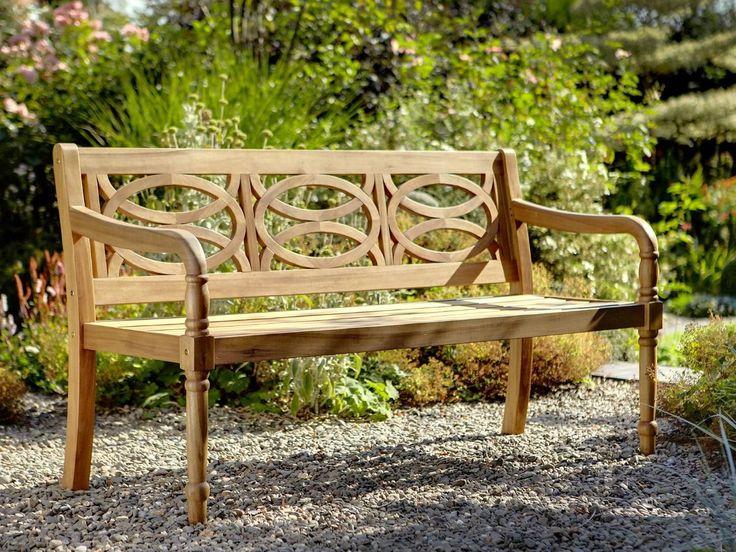 Hartman Cleobury 3 Seat Bench with Free Brass Plaque Link: http://www.hayesgardenworld.co.uk/product/hartman-cleobury-3-seat-bench-free-brass-plaque