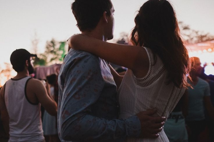 feeling excited at WayHome and holding each other #taralillyphotography