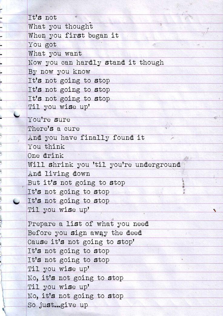 99 best lyrics I love..... images on Pinterest | Music lyrics ...