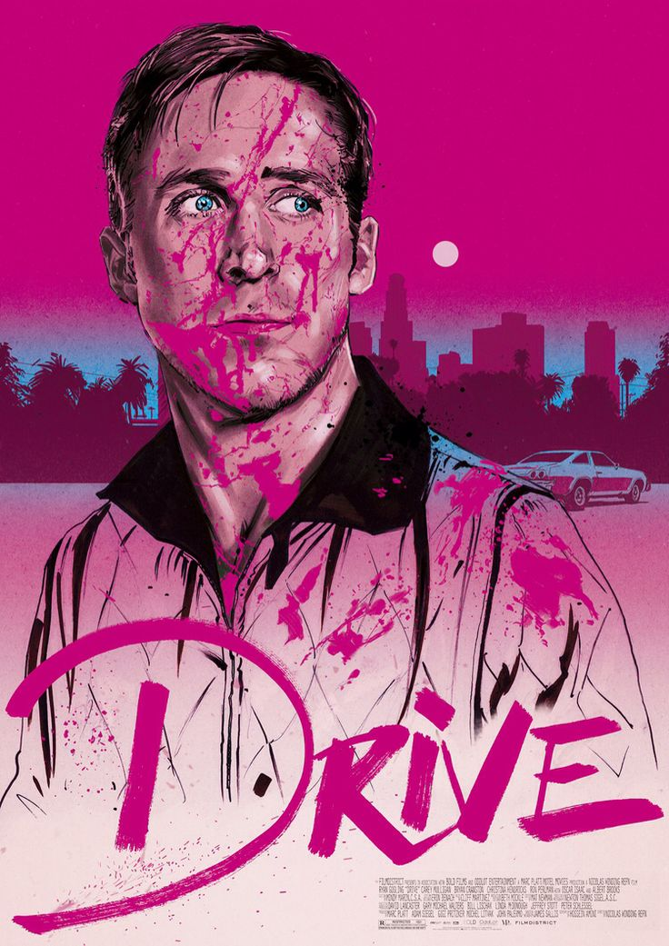 Drive poster by Mike Gambriel