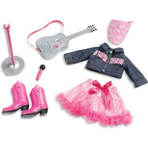 My Life As Country Pop Star Doll Clothing Accessory Set.... Ohh my gosh. This is adorable! Teeny rodeo queenie must have this!