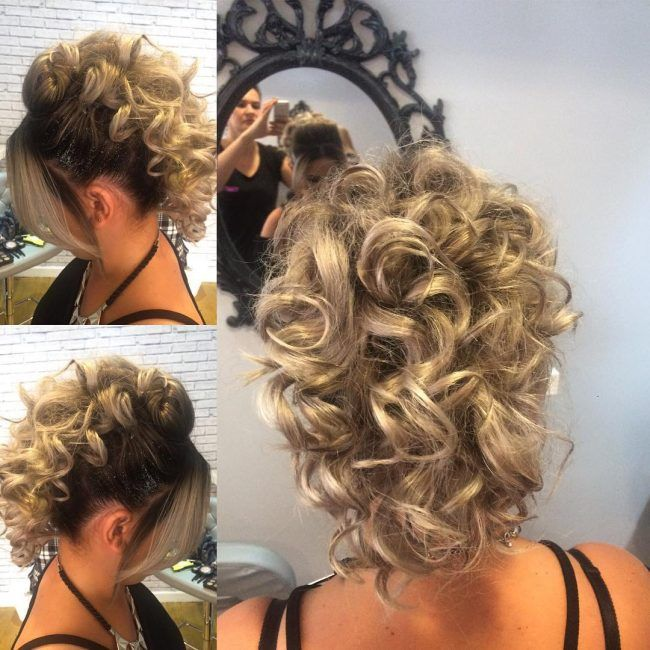ideas for curly hair styles best 25 mohawk updo ideas on faux hawk 7960