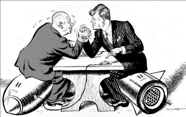Résumé court de la Guerre froide (1947 - 1991)