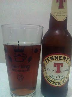 Uma cerveja que na aparência parecia ser uma Ale forte e mais clássica, mas que trouxe um sabor adocicado que trouxe uma experiência bem diferenciada em goles curtos, e em goles longos se manteve mais tradicional.  #Tennents #Scotch #Ale #cerveja #bebida #alcoólica #álcool #forte #strong #escura #Escócia #escocesa #caramelo #doce #água #malte #lúpulo #levedura #BeerKing #BeerKingStore #XinGourmet #LocalGuides #GuiasLocais