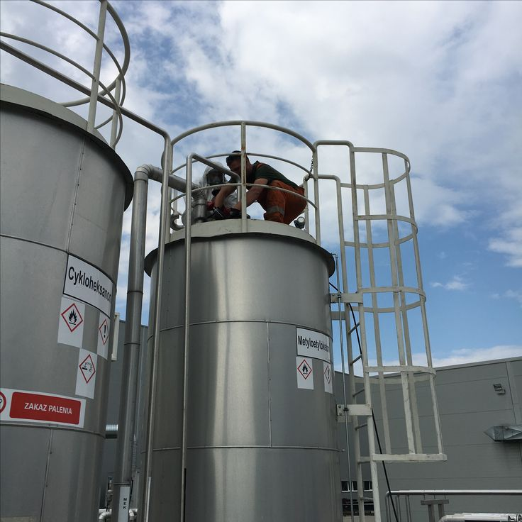 Silo cleaning in Poland
