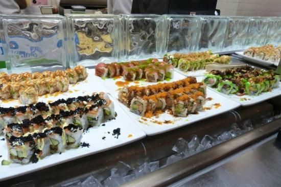 Makino at Premium Outlets, Las Vegas - Restaurant Reviews - DO YOU love sushi, sashimi, well this is the place--all you can eat, with a hot buffet and some great desserts.