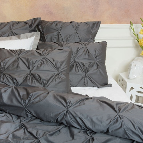 Valencia Gray Duvet Cover King Contemporary Covers Crane Canopy