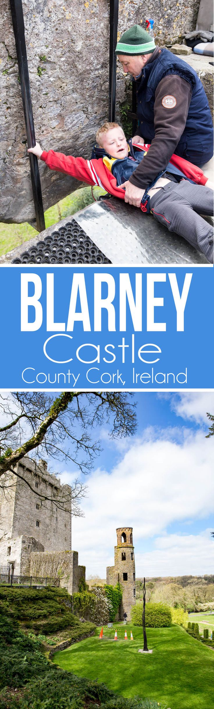 Visiting Blarney Castle in County Cork Ireland