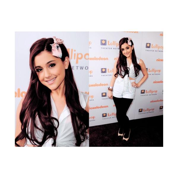 Young Hollywood ; Ariana Grande ❤ liked on Polyvore