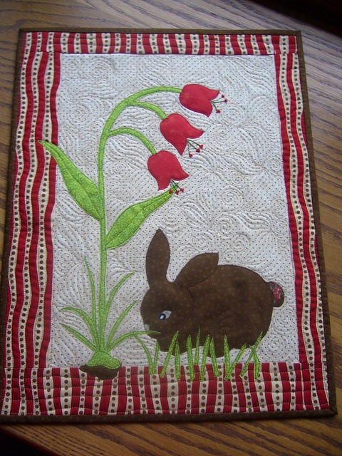 perfectly precious bunny quilt
