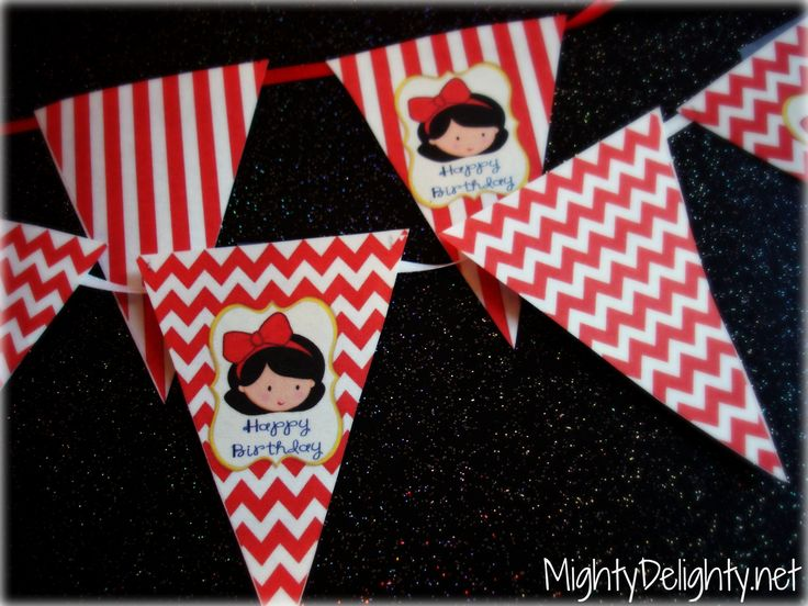 Mighty Delighty: Snow White Princess Party Pack {{Free Printables}}