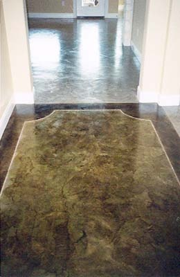 15 best images about home sweet home flooring ideas on for How to clean scored concrete floors