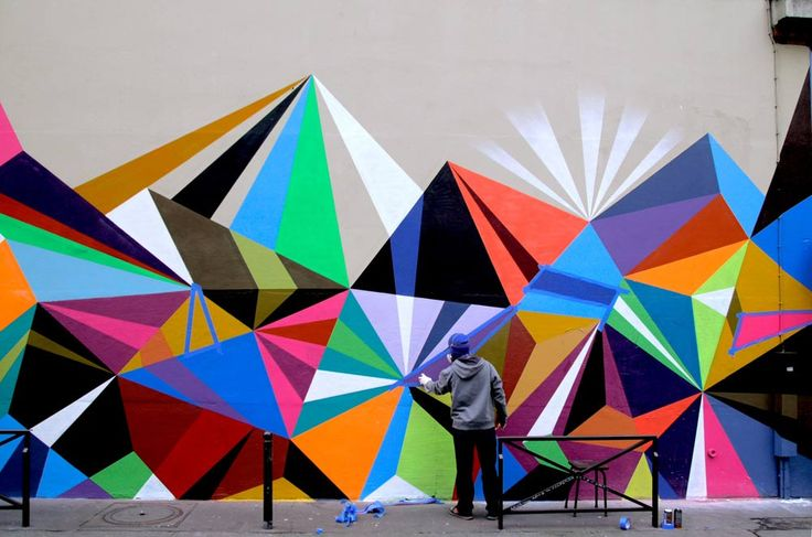 Graphic Street Art