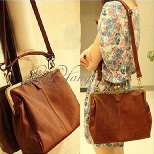 femme mode sac main bandoulire port paule cartable messenger hobo cuir bag ebay - Sac A Main Color