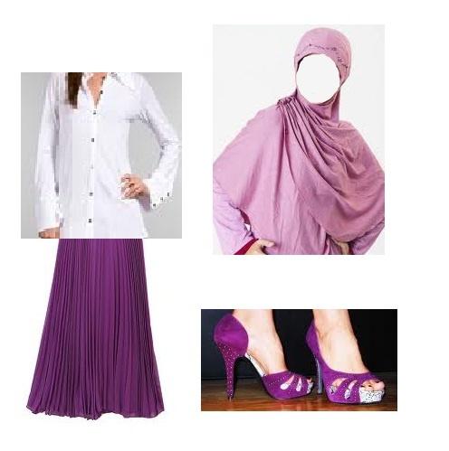 purple n white