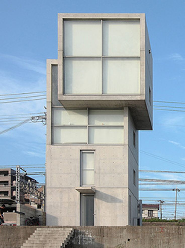 Tadao ando 4x4 house ando architecture tadao pinned by for Casa moderna 4x4