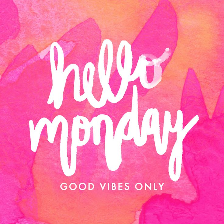 Hello Monday | Good Vibes Only | Watercolor Painting & Handlettering by Hello Monday Design