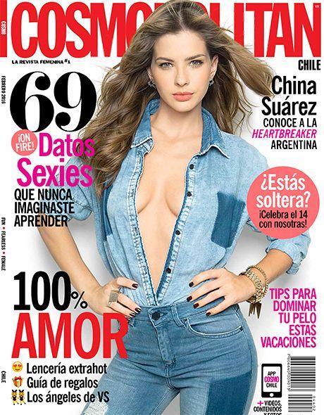 Portada de la revista Cosmopolitan con China Suárez