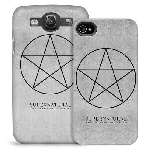 Supernatural Pentagram Symbol Phone Case for iPhone and Galaxy