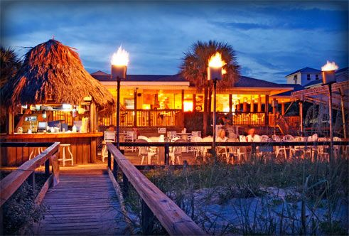 Blue Parrot Oceanfront Cafe -   St. George Island, FL