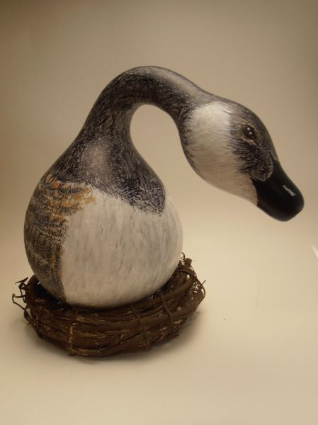 72 best GooseNeck Gourds images on Pinterest | Birdhouses ... |Dried Gourds Goose