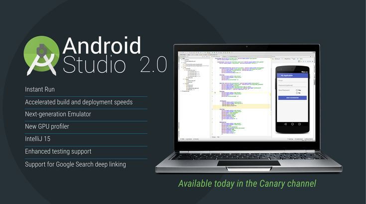 Google unveils Android Studio 2.0 with Instant Run faster Android emulator and new GPU profiler - At the Android Dev Summittoday Google announced Android Studio 2.0 the second major version of its integrated development environment (IDE). Version 2.0 adds Instant Run a faster Android emulator and a new GPU profiler.