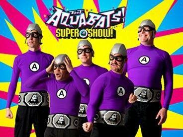 Aquabats Super Show in modalità incognito
