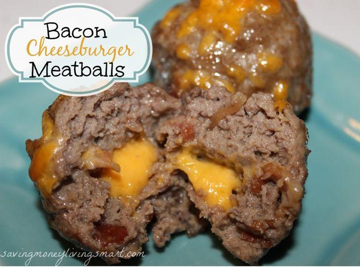bacon cheeseburger meatball recipe