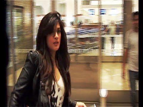 Richa Chadda at Mumbai Airport leaving for IIFA Awards 2014.