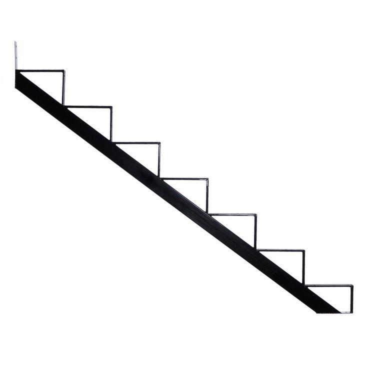 Best Pylex 7 Steps Steel Stair Stringer Black 7 1 2 In X 10 1 640 x 480
