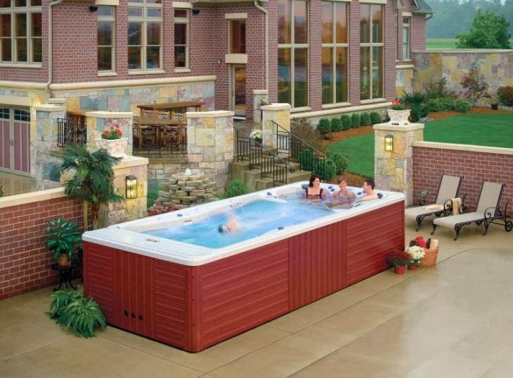 1000 Images About Lap Pools Hot Tubs On Pinterest Swim Endless Pools And Swimming