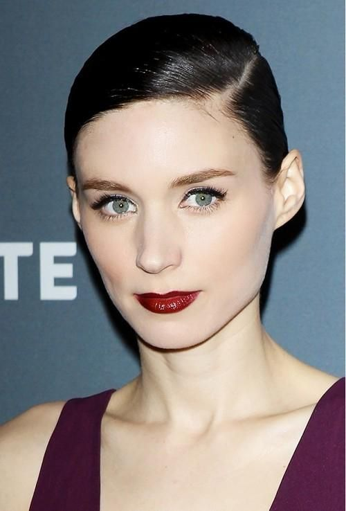 What's the perfect red lipstick for your skin tone? An alabaster complexion like Rooney Mara's pairs perfectly with wine-colored reds for an overall effect that's sultry and sophisticated, not vampy.