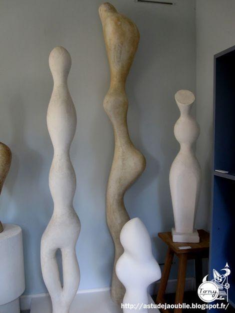 Jean Arp, Statues in the Atelier on ArtStack #jean-arp #art