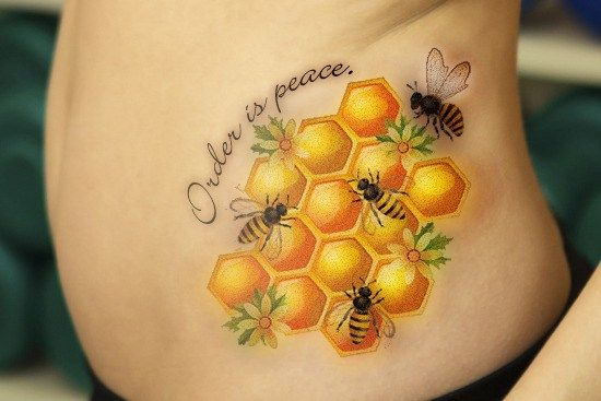 10 Bee Tattoo Designs and Meanings