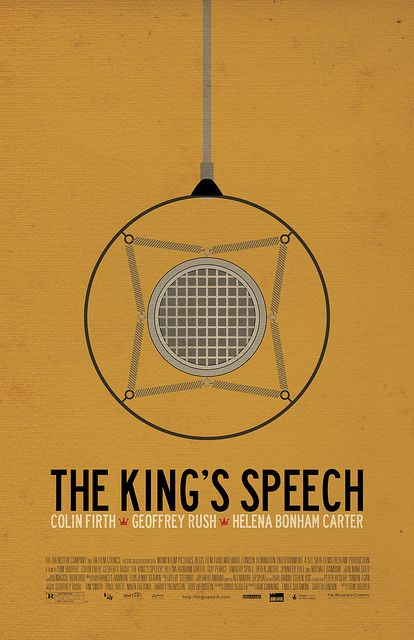 Minimal Movie Posters - The King's Speech