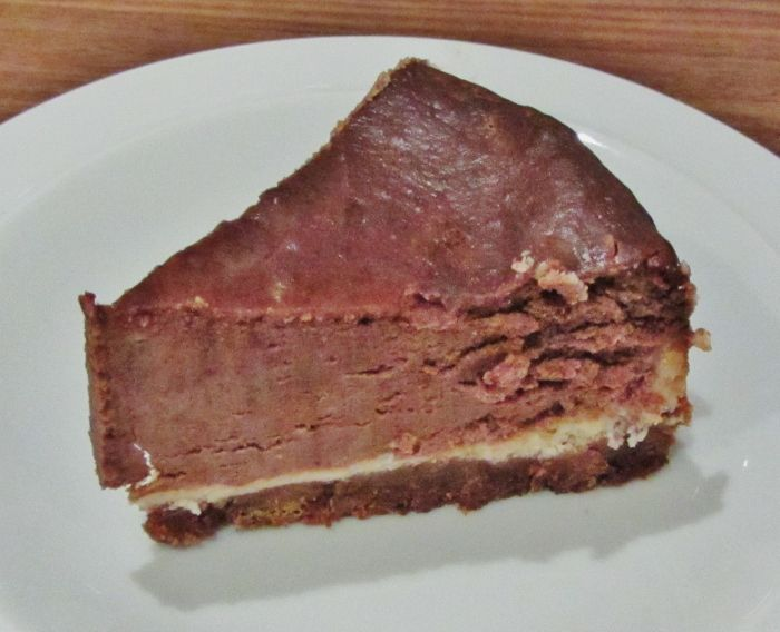 Mary Berry's American Style Chocolate Cheesecake - not the prettiest ...