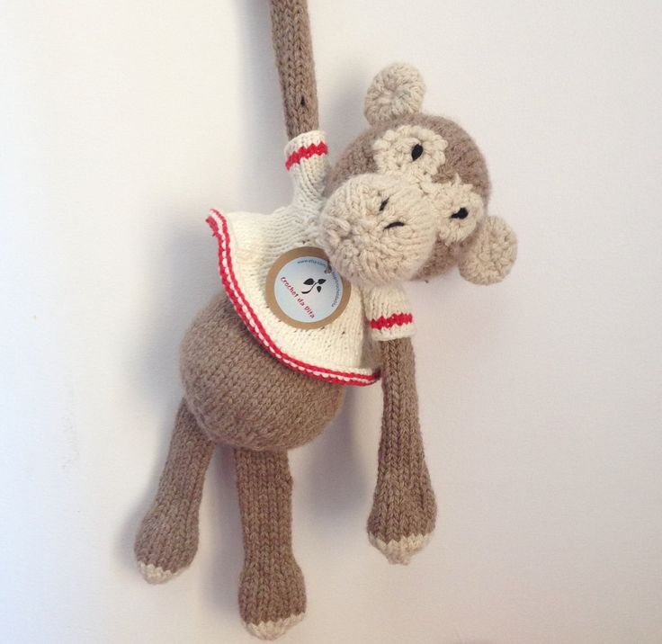 ready to ship - ecological soft plush - newborn gift - baby toy - nursery decor - Peppa the big chunky soft sweet gorilla by crochetdadita on Etsy