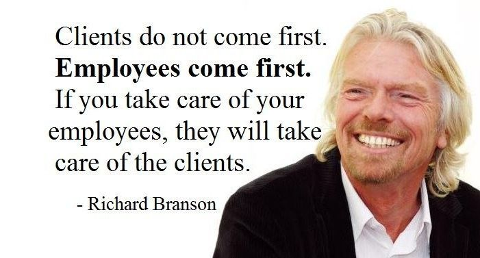 How You Treat Your Employees Will Determine The Fate Of Your Company Brigettehyacinth Com Doctor Quotes Medical Doctor Quotes Richard Branson