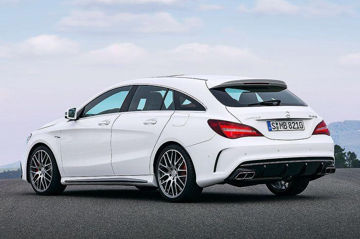 Mercedes Cla Facelift 2016 Shooting Brake Mercedes Mercedes