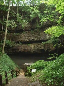 Organ Cave, West Virginia - Site of Confederate's Ammunition Factory....