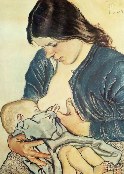 Motherhood - Stanislaw Wyspianski 1902 | Eva's blog