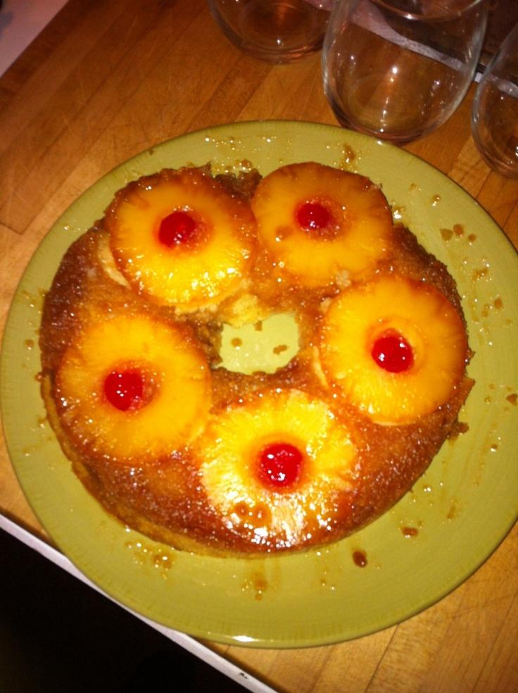 Wolfgang Puck Pineapple Upside Down Cake