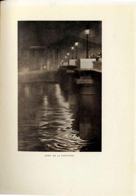 """Yoshio Markino (1869-1956), Illustration pour """"The Colour of Paris"""" de l'Académie Goncourt - 1914"""