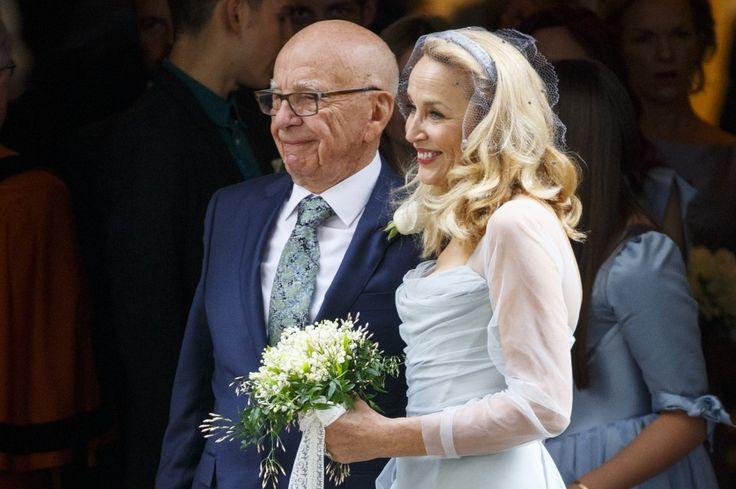 Jerry Hall e Rupert Murdoch stanno insieme dall'estate 2015: il loro è stato amore a prima vista.
