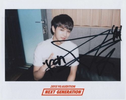 iKON Yunhyeong for ( 2015 YG AUDITION : NEXT GENERATION ) SPECIAL TIP #3