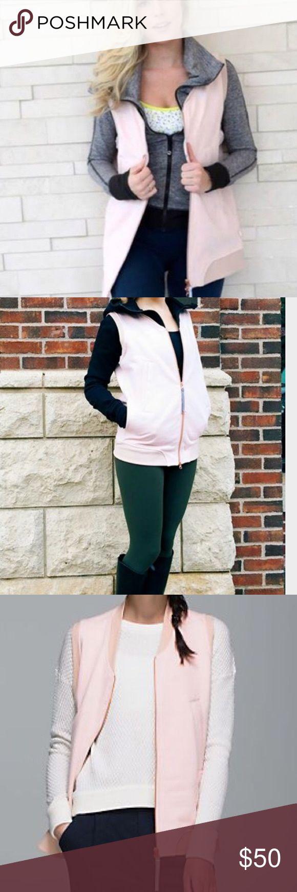 Lululemon vest Worn once! Excellent condition lululemon athletica Jackets & Coats Vests