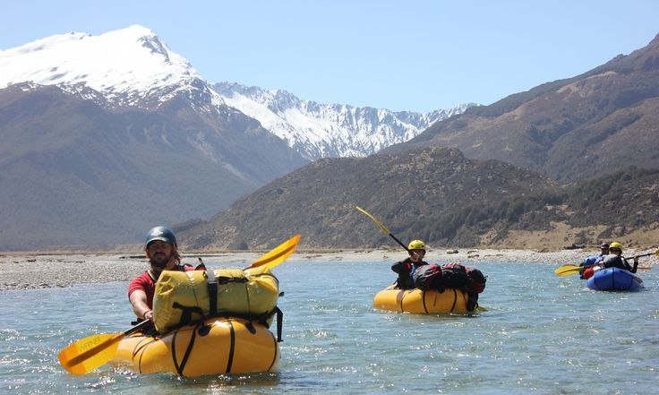 A packrafting trip in New Zealand
