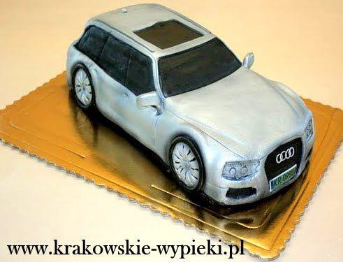 Tort Audi z Cukierni Krakowskie Wypieki