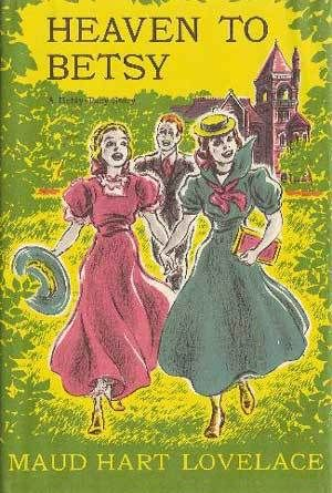 Heaven to Betsy by Maud Hart Lovelace. This is part of her series for older girls. It is amazing how similar and different high school was.
