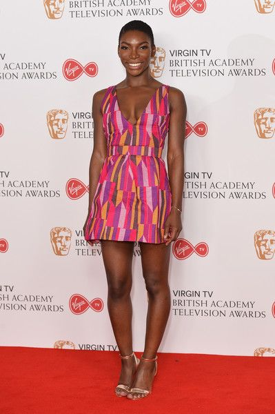 Michaela Coel Photos Photos: Virgin TV BAFTA Television Awards - Winner's Room | Celebrity red carpet, Celebrity style, Fashion